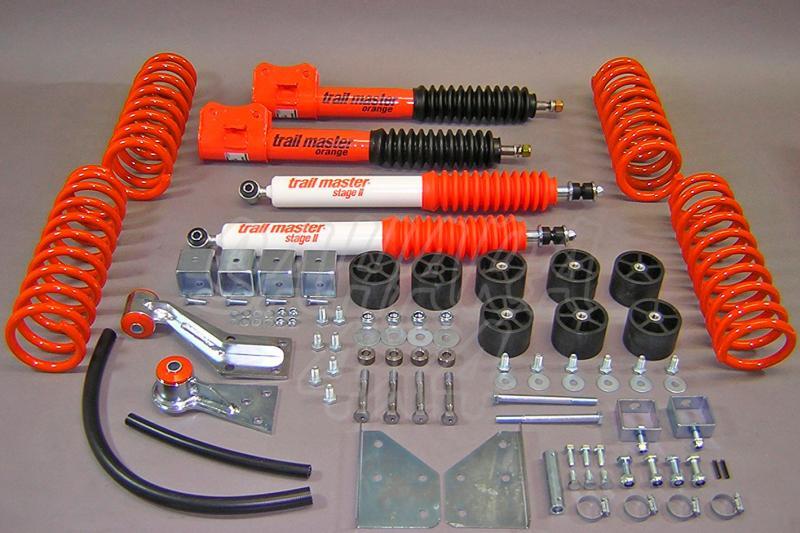 Kit de suspensión Trail master Suzuki Vitara 4 cilindros  +10cm - Vitara 4 cilindros., +100 mm