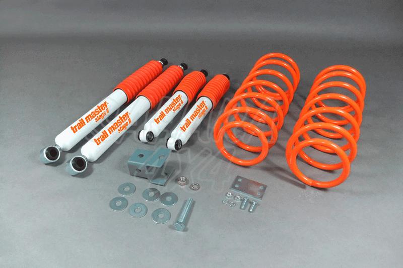 Kit Trail Master Completo Toyota 4 Runner +60 mm - Kit Completo con amortiguadores.