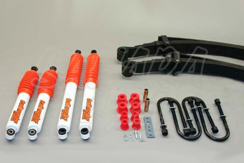 Kit de suspensión Trail master Frontera + 50 mm - Opel frontera Ballestas, +50 mm