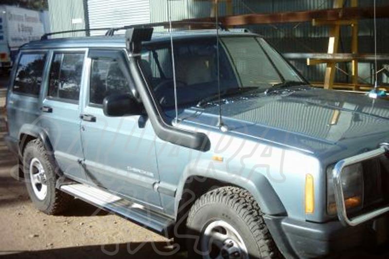Snorkel Airflow Jeep Cherokee XJ Diesel  - Snorkel Airflow, Made in Australia.