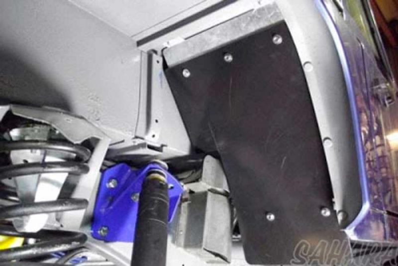 Protectores inferiores del paso de rueda para Defender 90 - Land Rover Defender 90, pulse para ver toda la información