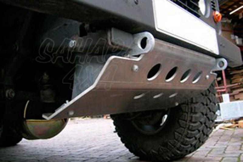 Protector de Barras Direccion Aluminio 8 mm Defender - Valido para Todos los Defender
