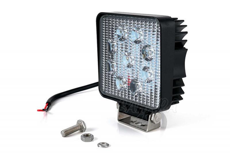 Faro de trabajo de LED 27W ( Recomendado ) - 12v y 24 v 27 w