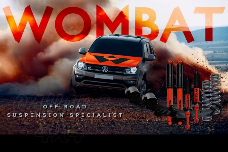 Kit suspension + 50 mm Wombat Volwagen Amarok 2010+