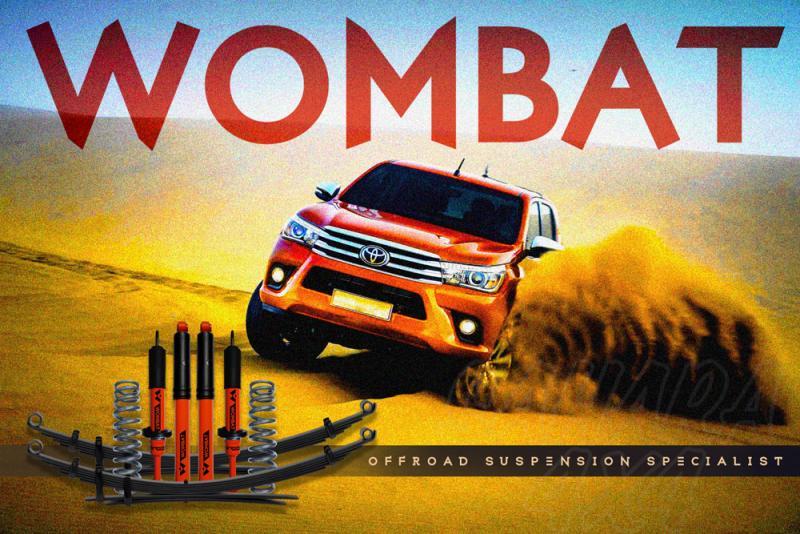 Kit suspension + 50 mm Wombat Toyota Revo 2015+