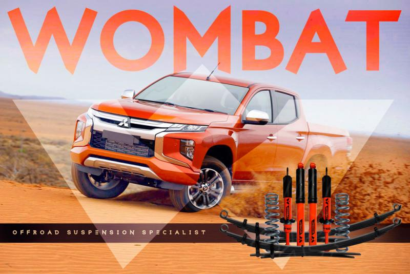 Kit suspension + 40 mm Wombat Fiat Fullback [2016-]
