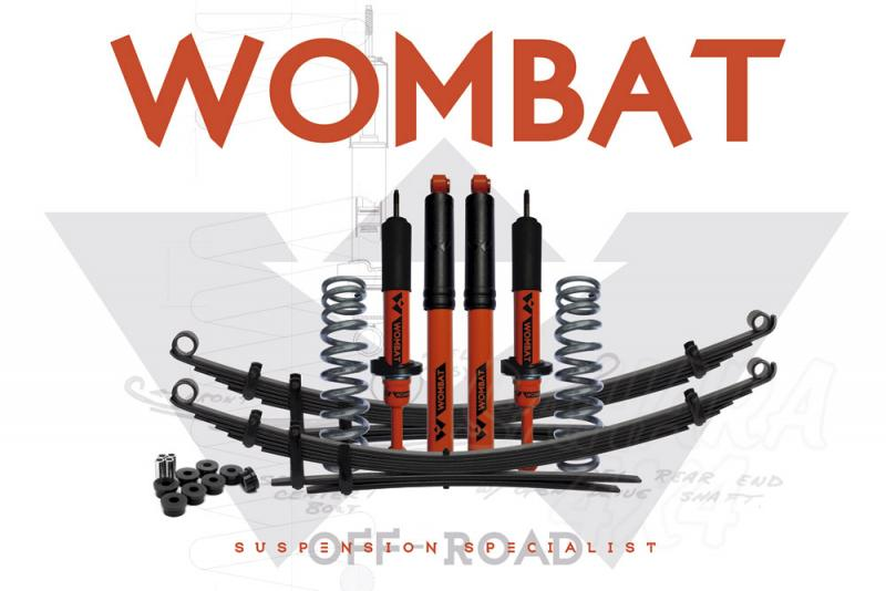Kit suspension + 35 mm Wombat Nissan D23 2015+ ballestas traseras