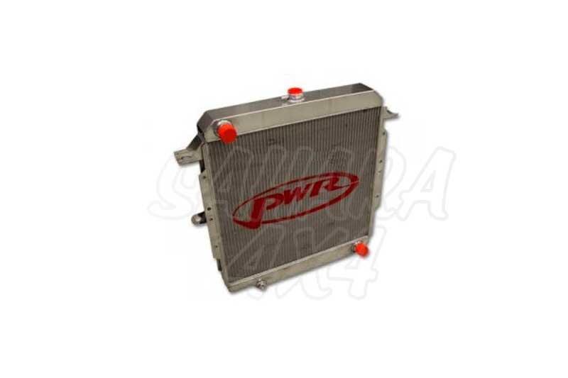 Radiador de Agua PWR tipo africano  - HZJ/BJ 70/71/73/74/75/78/79