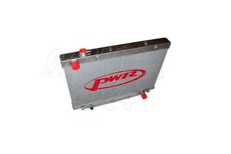 Radiador de Agua PWR tipo africano  - Disponible para HDJ FZJ 80 cambio manual o automatico