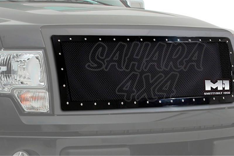 Rejilla delantera negra SMITTYBILT - Ford F150 09-12 -