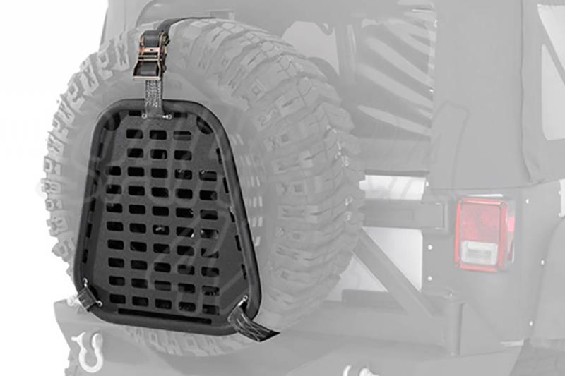 I-Rack Casilla de almacenaje para rueda trasera - Montaje universal