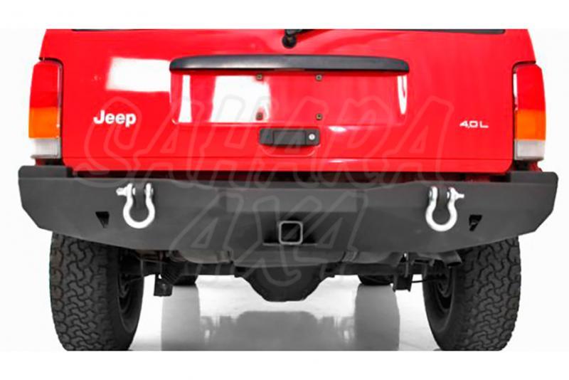 Paragolpes Trasero Smittybilt XRC - Jeep Cherokee XJ - Grilletes no incluidos