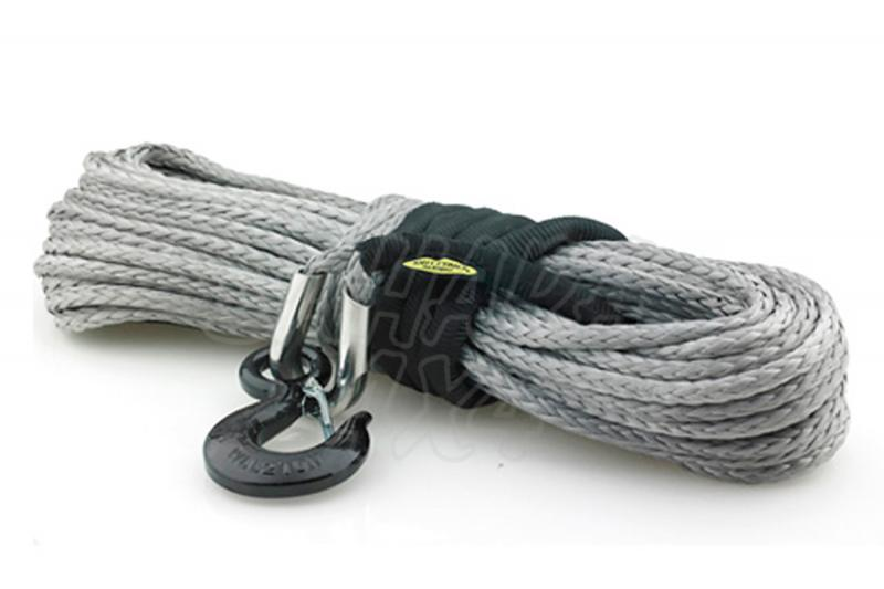 Cable Smittybilt Sintetico Dyneema 10.000 Lbs 4.536 Kg  - 28 mts