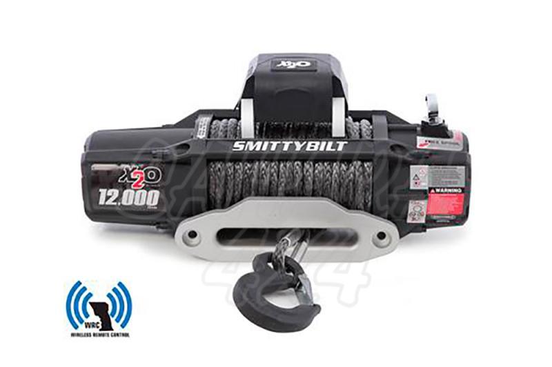 Cabrestante Smittybilt X20 Gen2 12.000 LBS Control Remoto - 5.440 Kg 12 v