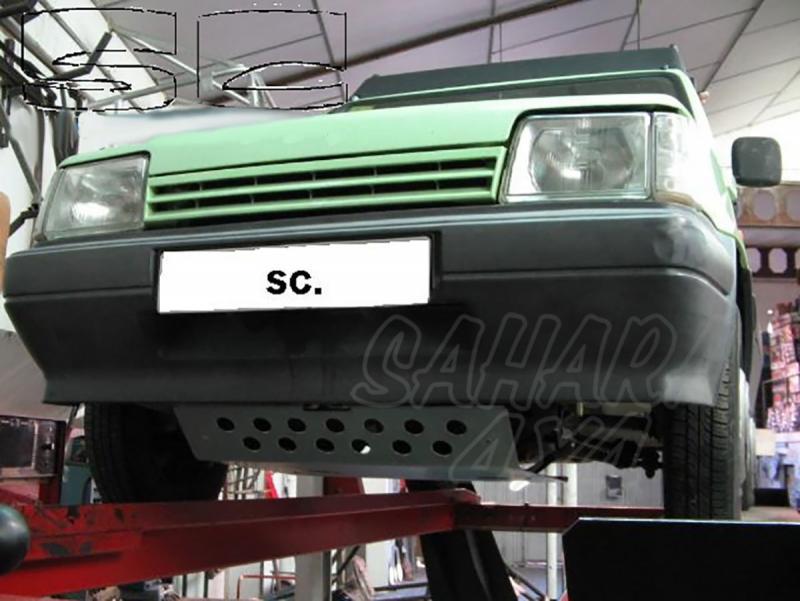 Protectores de bajos Fiat Panda 4x4 - Disponible: Cubrecárter y Protector de Deposito.