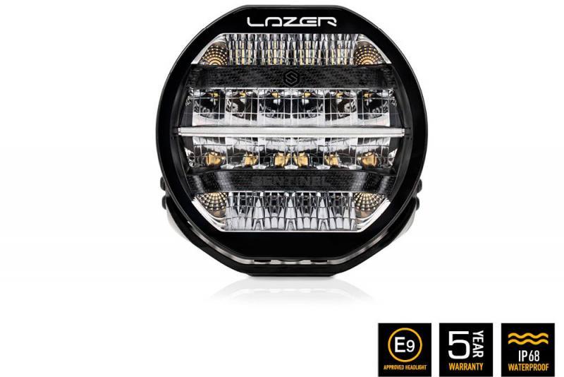 Faro Lazer LED Sentinel Negro (con luz posicion)