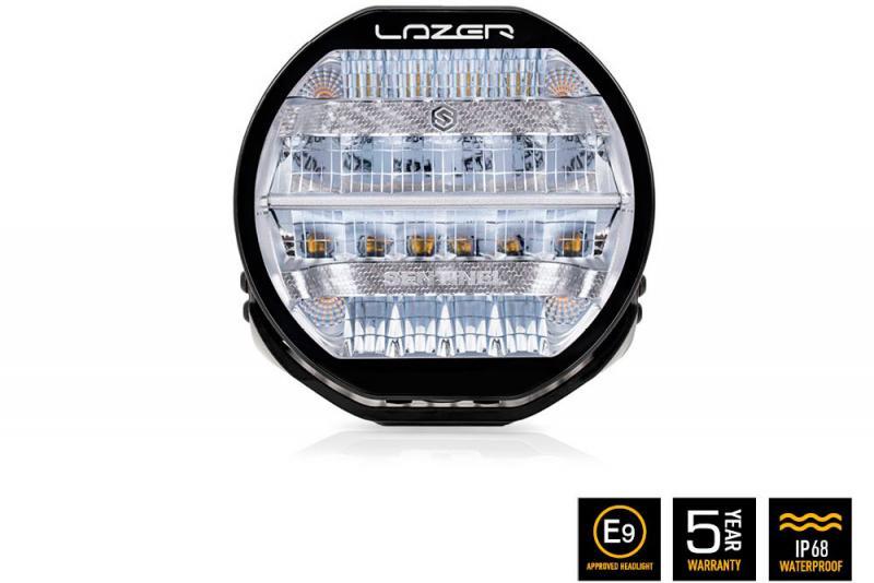 Faro Lazer LED Sentinel Cromado (con luz posicion)