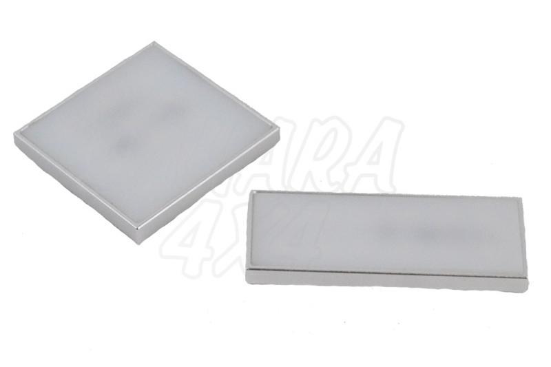 Plafon Led 8-30v 2w 160lm CRI80 A+ mini , adhesivo - Iluminación en color Blanco dia, fijacion con tornillos
