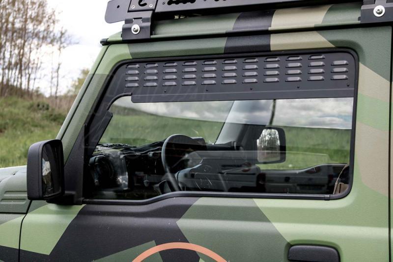 Placas de ventilación de las ventanas laterales Suzuki Jimny 2018