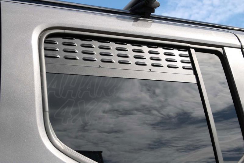 Placas de ventilación de las ventanas laterales traseras Citroen Berlingo / Peugeot Rifter / Opel Co