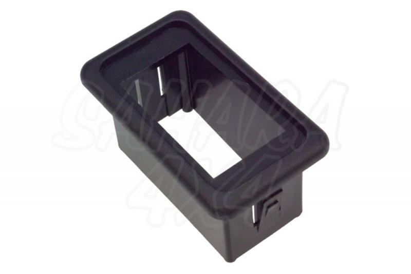 Soporte 1 Interruptor tipo ARB - Soporte para 1 botón tipo ARB