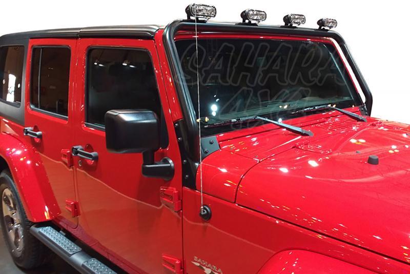 Soporte de faros específico Jeep Wrangler JK -