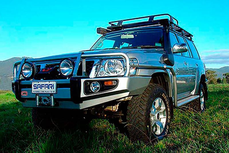 Safari Snorkel Nissan Patrol GR Series 4 ZD30DDT 3.0L Diesel engines