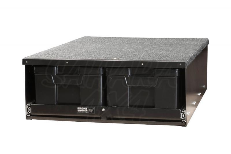 Cajonera (hasta 4 cajas) para Land Rover Defender - Cajonera diseñada para Defender modelo 90 y 110