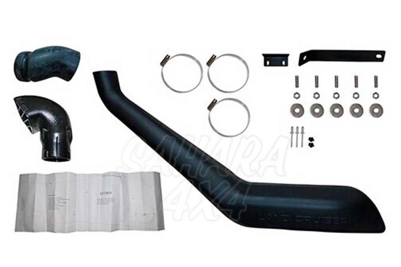 Snorkel Toyota Land Cruiser 200 series - Snorkel de buena calidad.
