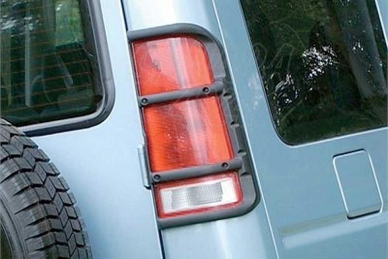 Protectores de faros traseros en plastico Land Rover Discovery II - Pareja ,
