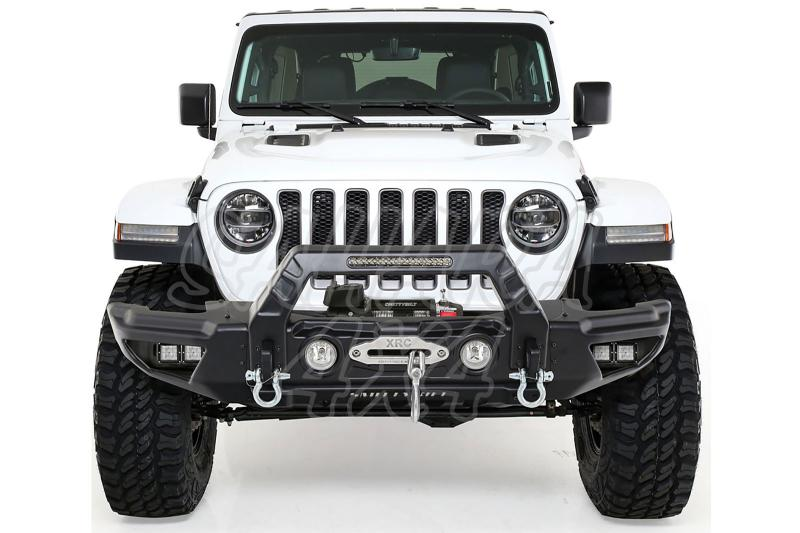 Paragolpes delantero modular Stryker Smitty Bilt para Jeep Wrangler JL