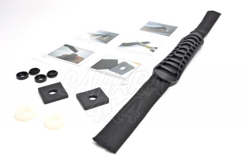 Agarradera Flexible (para puerta delantera) - Reemplaza la maneta rigida original de la puerta (precio por unidad)