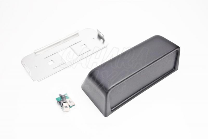 Consola Grande - consola Mini  - Se suministra con soporte metalico y fijaciones necesarias. Pulse para más información.