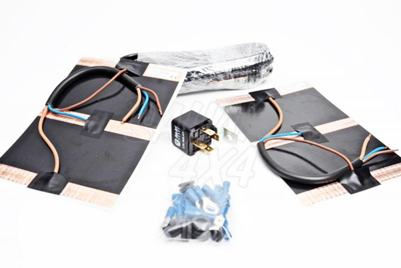 Kit Conversion retrovisores calefactables - Pack de dos unidades con kit de instalacion.