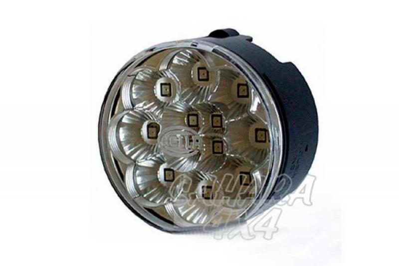 Intermitentes delanteros LED 66mm , para Land rover Defender SVX - Pareja de intermitentes LED delanteros transparentes para Defender SVX (es el piloto que va en la esquina superior de la calandra) , precio de 2 unidades