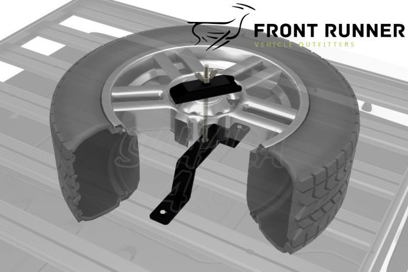 Soporte rueda de recambio Front Runner - Valido para Bacas Front Runner