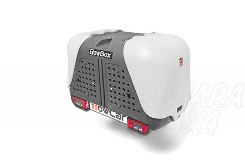 Portaperros TowBox V2 - El mejor portaperros para transportar a sus perros de manera cómoda, sencilla, limpia y cómoda.