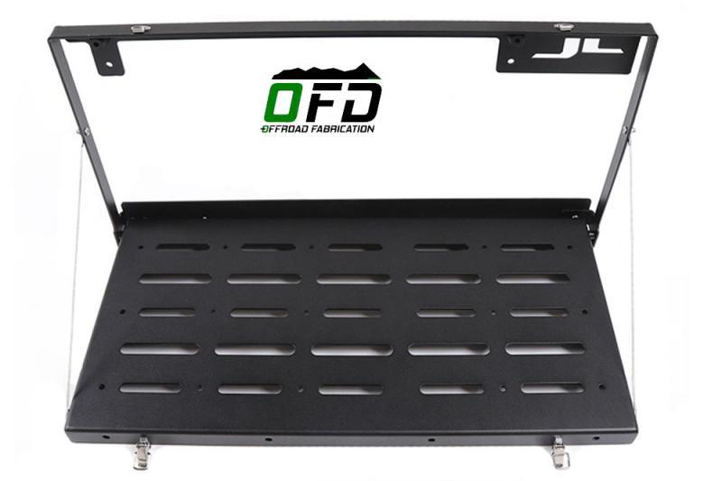 Bandeja abatible para puerta de maletero OFD Jeep Wrangler JL