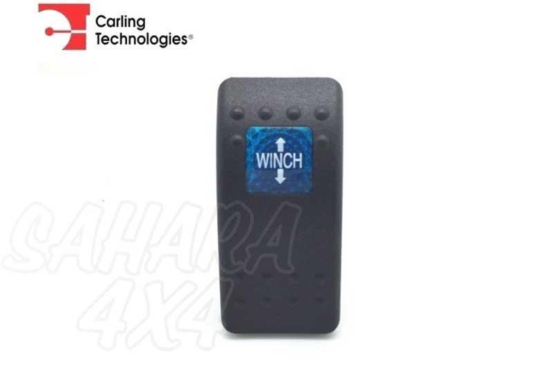 Tapa winch para boton tipo ARB - Tapa goma negra para botón tipo ARB