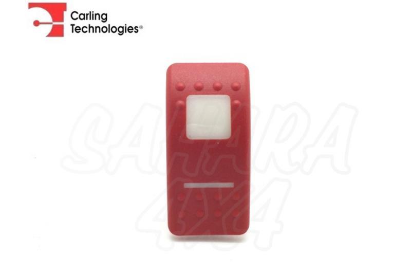 Tapa Roja para boton tipo ARB - Tapa roja para botón tipo ARB