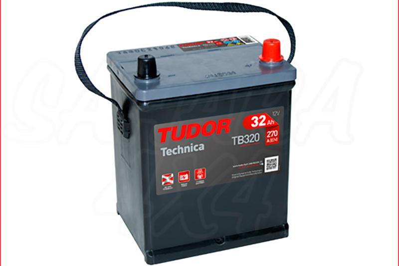 Bateria TUDOR Technica TB320 32 AH , Positivo Derecha - LONGITUD: 178 MM ANCHO: 135 MM ALTURA: 225 MM