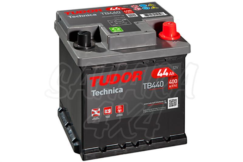 Bateria TUDOR Technica TB440 44 AH , Positivo Derecha - LONGITUD: 175 MM ANCHO: 175 MM ALTURA: 190 MM