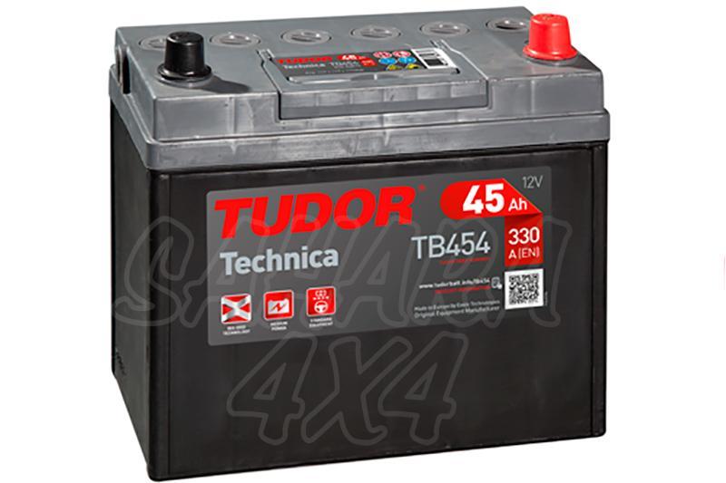 Bateria TUDOR Technica TB454 45 AH , Positivo Derecha - LONGITUD: 237 MM ANCHO: 127 MM ALTURA: 227 MM