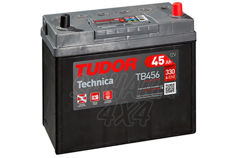 Bateria TUDOR Technica TB456 45 AH , Positivo Derecha - LONGITUD: 237 MM ANCHO: 127 MM ALTURA: 227 MM