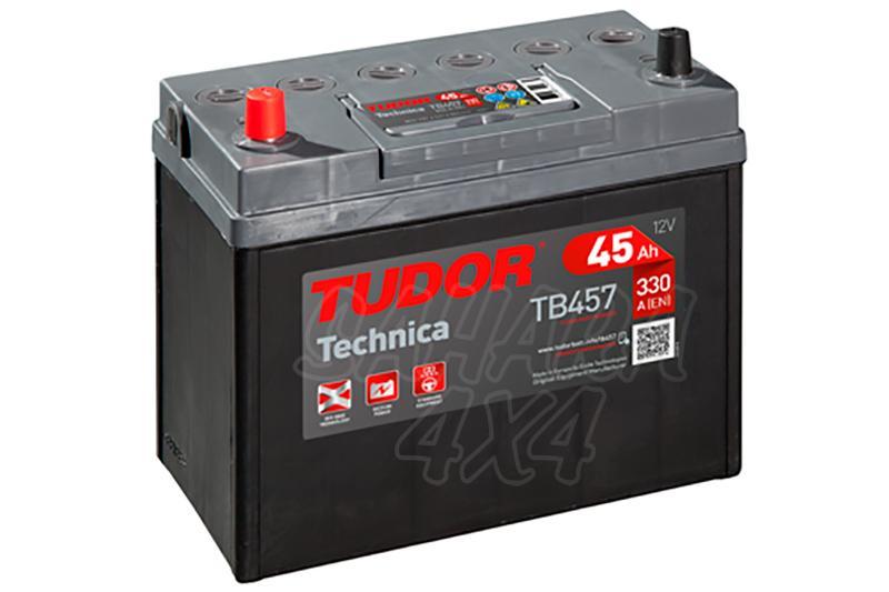 Bateria TUDOR Technica TB457 45 AH , Positivo Izquierda - LONGITUD: 237 MM ANCHO: 127 MM ALTURA: 227 MM
