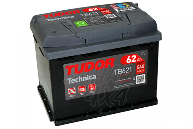 Bateria TUDOR Technica TB621 62 AH , Positivo Izquierda - LONGITUD: 242 MM ANCHO: 175 MM ALTURA: 190 MM