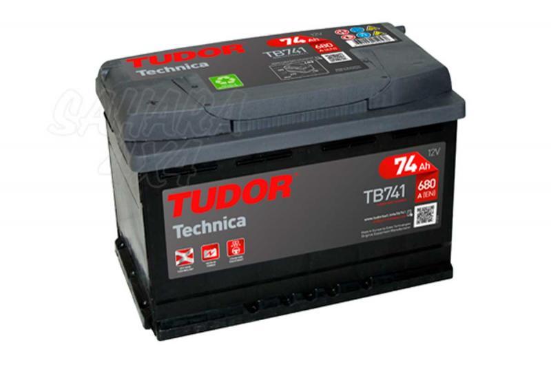 Bateria TUDOR Technica TB741 74 AH , Positivo Izquierda - LONGITUD: 278 MM ANCHO: 175 MM ALTURA: 190 MM