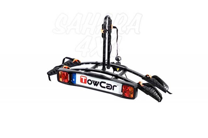 Portabicicletas sobre bola TowCar B2 - Portabicicletas sobre bola de enganche para dos bicicletas.