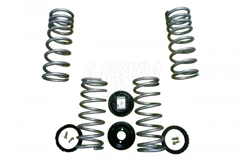 Kit de conversion de suspension neumatica a muelles Range Rover P38 - Kit completo.
