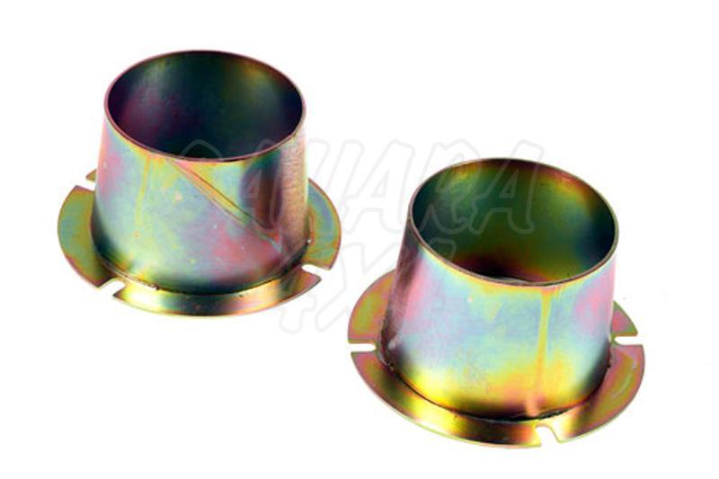 Conjunto de conos de guiado de muelle delanteros  - Pareja de conos